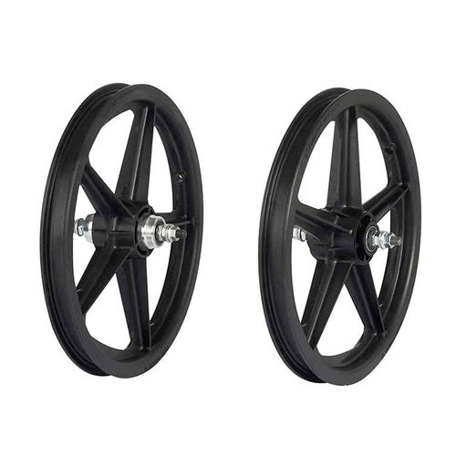 Skyway Tuff II 16 Inch 5 Spoke Wheelset
