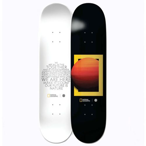 Element National Geographic Sun 8.1 Inch Skateboard Deck