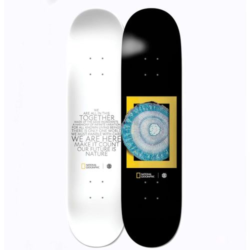 Element National Geographic Molecule 8.2 Inch Skateboard Deck