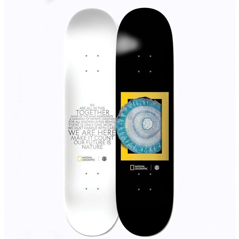 Element-National-Geographic-Molecule-8.2-Inch-Skateboard-Deck