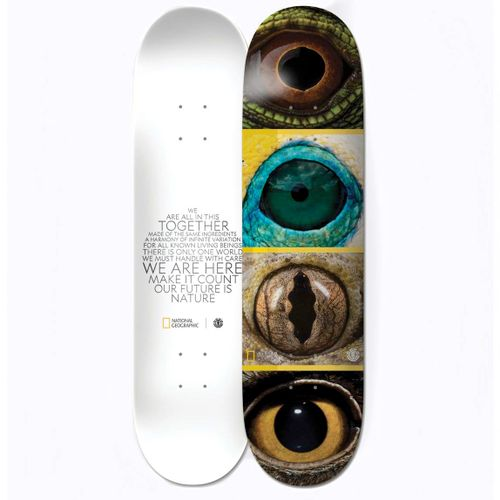 Element National Geographic Quadrant 8.0 Inch Skateboard Deck