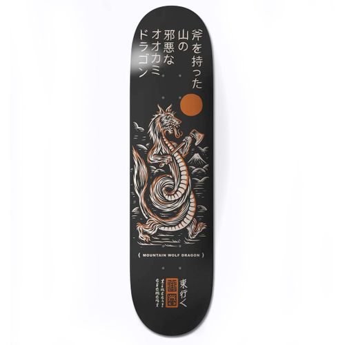 Element Timber Wolf Dragon 8.2 Inch Skateboard Deck