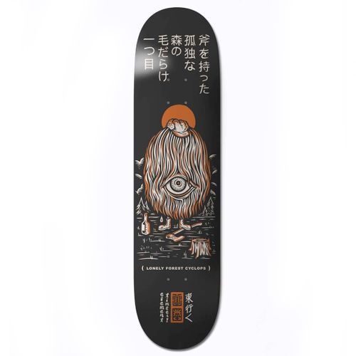 Element Timber Forest Cyclops 8.5 Inch Skateboard Deck