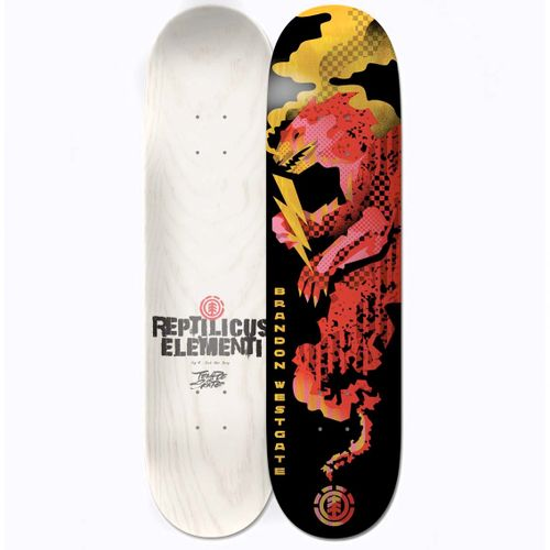 Element Reptilicus Westgate 8.0 Inch Skateboard Deck