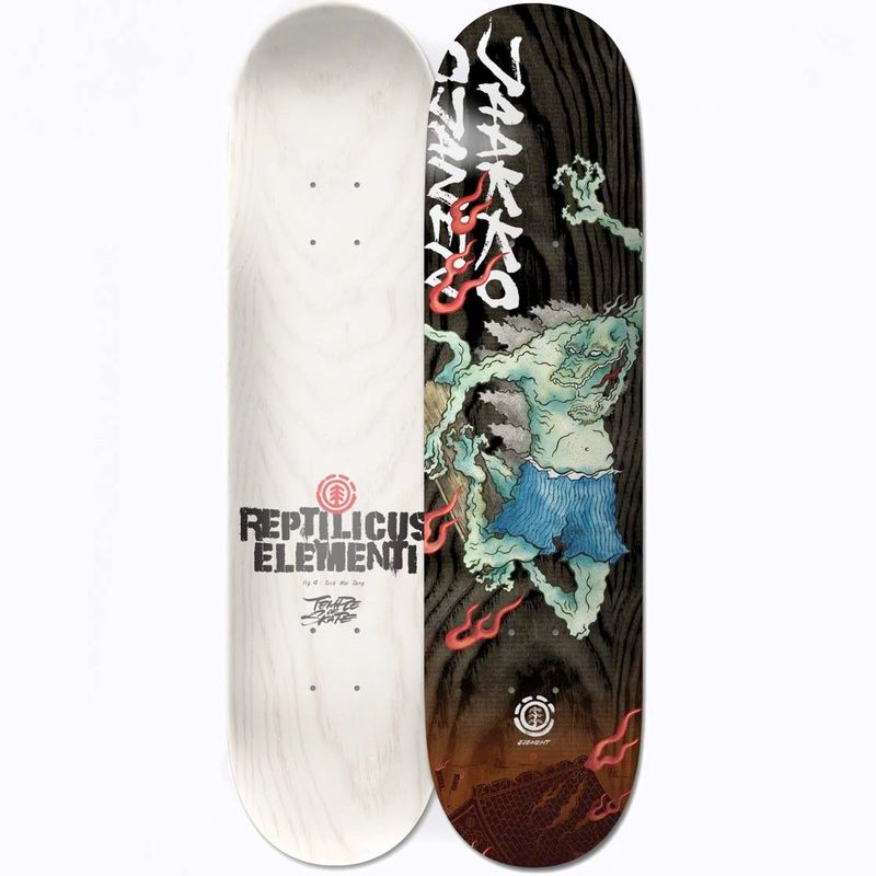Element-Reptilicus-Jaakko-8.5-Inch-Skateboard-Deck