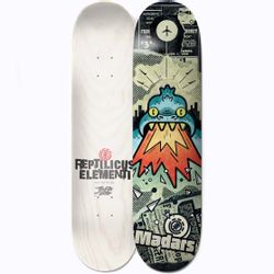 Element Reptilicus Madars 8.2 Inch Skateboard Deck