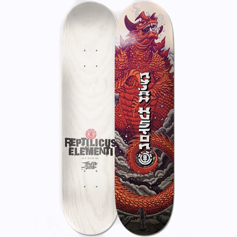 Element-Reptilicus-Nyjah-8.1-Inch-Skateboard-Deck