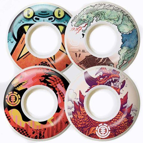 Element Reptilicus 52mm Skateboard Wheels
