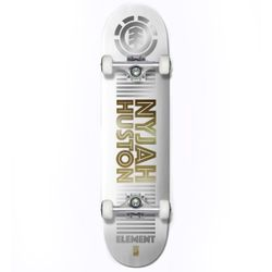 Element Nyjah Reflect 8.0 Inch Complete Skateboard