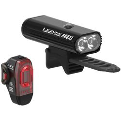 Lezyne Micro Pro 800XL and KTV Pro Light Set