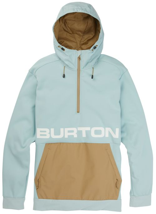 Burton Crown Bonded Pullover Fleece Hoodie 2020