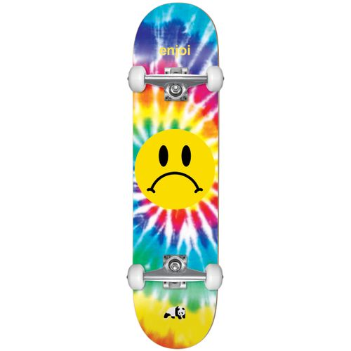 Enjoi Frowny Tie Dye First Push 8.0 Inch Complete Skateboard