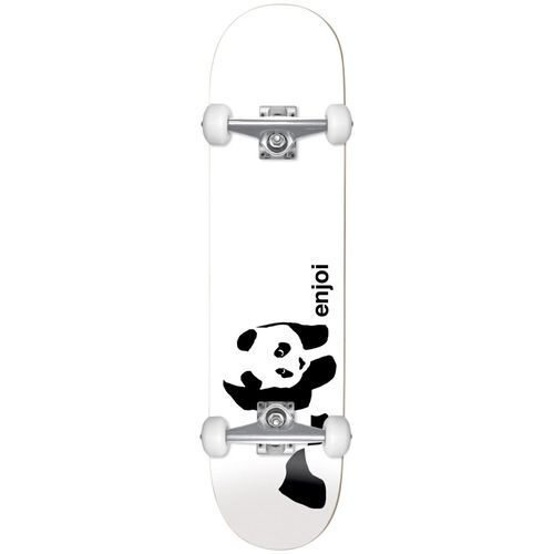 Enjoi Whitey Panda First Push 7.75 Inch Complete Skateboard