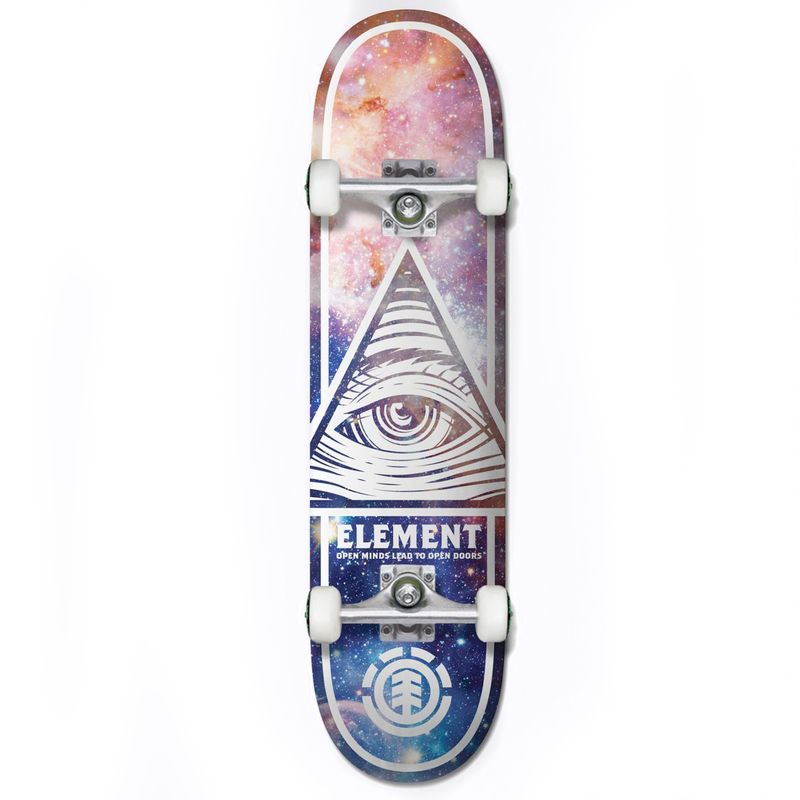 Element-Eye-Trippin-Cosmos-8.0-Inch-Complete-Skateboard