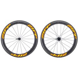 Zipp Used 404 Firecrest Carbon Clincher Wheelset