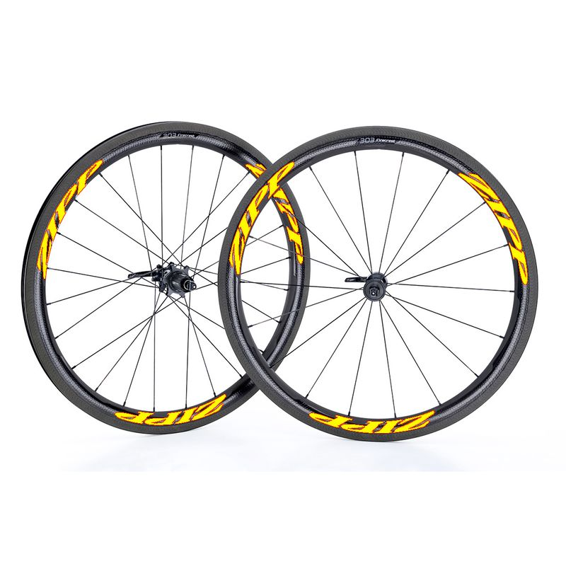 Zipp-Used-303-Firecrest-Carbon-Clincher-Wheelset