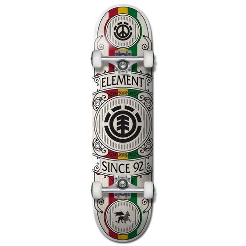 Element Regal Rasta 8.0 Inch Complete Skateboard