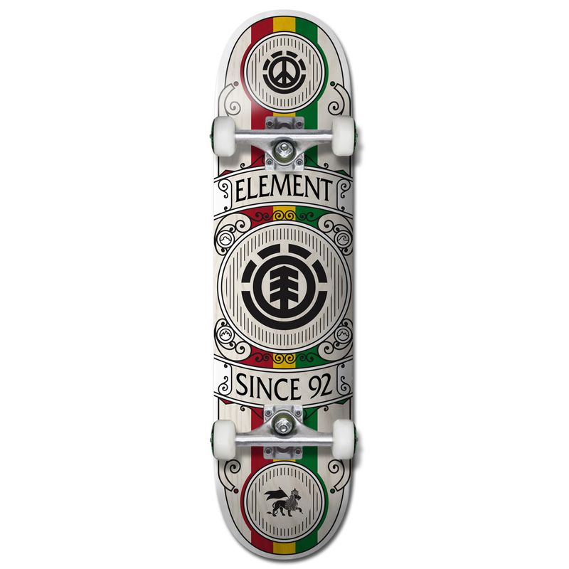 Element-Regal-Rasta-8.0-Inch-Complete-Skateboard