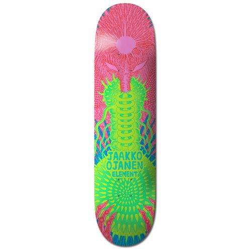 Element Tetsunori Jaakko 8.1 Inch Skateboard Deck