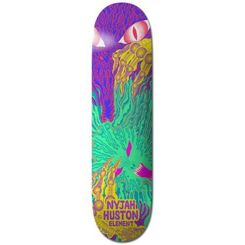 Element Tetsunori Nyjah 8.0 Inch Skateboard Deck