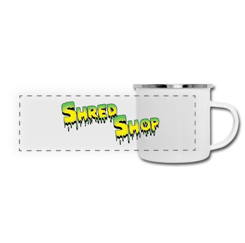 Shred Shop Slime Logo Camper Mug