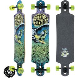 Sector 9 Night of Shred Longboard Complete
