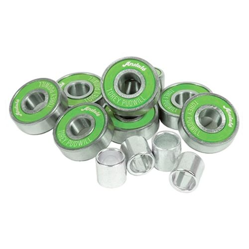 Andale Torey Pudwill Green Hot Sauce Pro Bearings