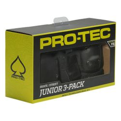 Pro-Tec Junior Street Gear 3 Pack Pad Set