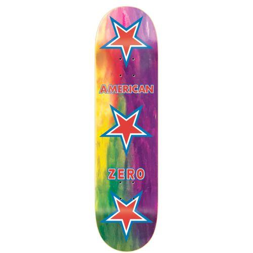 Zero American Zero Rainbow Stained Skateboard Deck