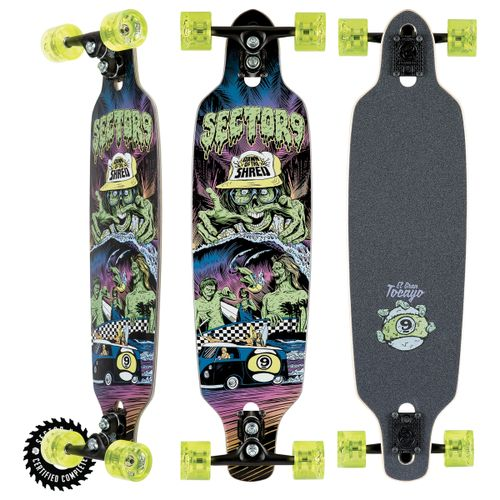 Sector 9 Dawn Of Shred Longboard Complete