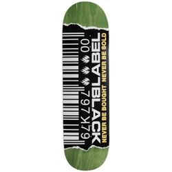 Black Label Ripped Barcode Skateboard Deck