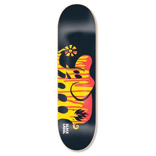 Black Label Spill Proof Elephant Skateboard Deck