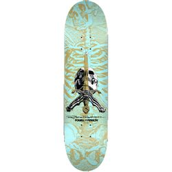 Powell Peralta Rodriguez Skull and Sword Skateboard Deck