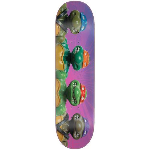 Santa Cruz TMNT Figures Everslick Skateboard Deck