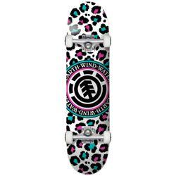 Element Leopard Party Skateboard Complete