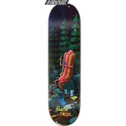 Santa Cruz Hot Dog Campout Series Skateboard Deck