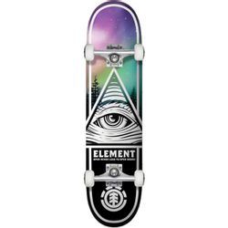 Element Eye Tripin Borealis Skateboard Complete