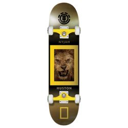 Element X National Geographic King Jungle Nyjah Pro Skateboard Complete