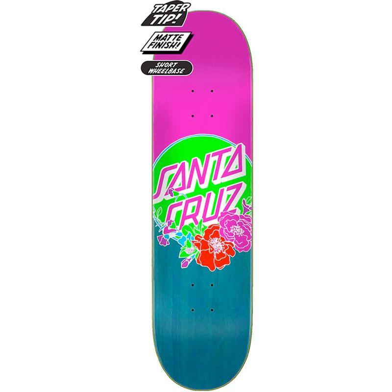 Santa-Cruz-Floral-Dot-Series-Skateboard-Deck