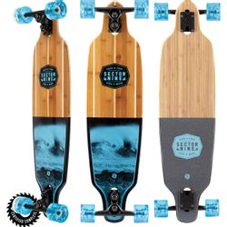 Sector 9 Bico Shoots Longboard Complete
