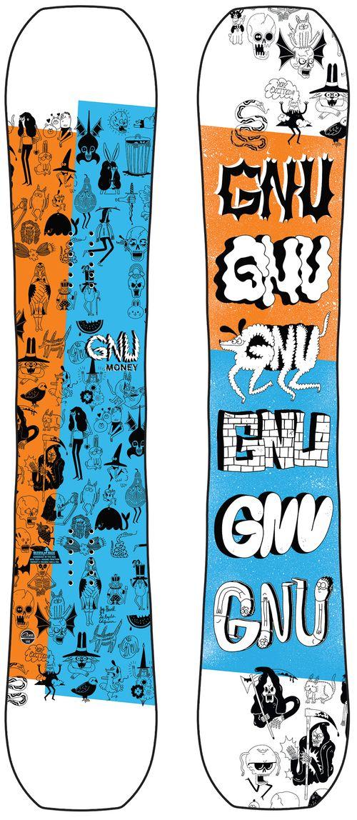 GNU Money Snowboard 2021