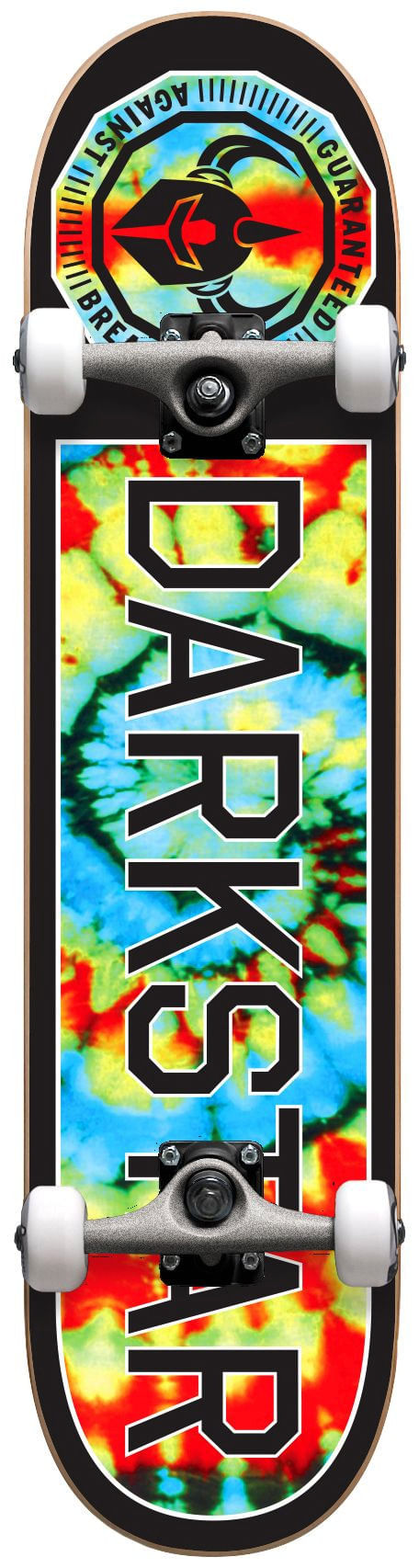 Darkstar Timeworks 7.75 Inch First Push Complete Skateboard With Backpack