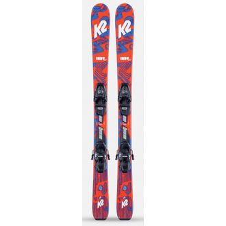 K2 Indy Kids Skis with FDT 7.0 Bindings 2021