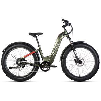 Aventon 2021 Aventure Step Thru Electric Fat Bike