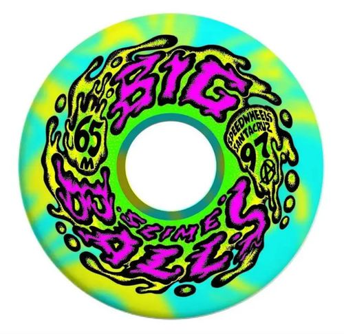 Slime Balls Big Balls 97a 65mm Skateboard Wheels