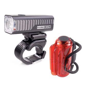 Serfas E-Lume ESM-350 Combo Light Set