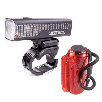 Serfas E-Lume ESM-600 Combo Light Set