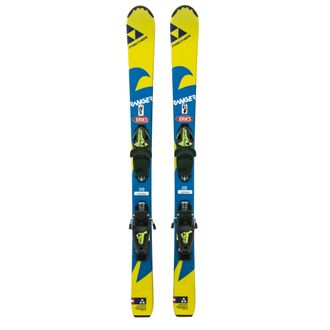 Fischer Used Kids Ski and Binding Package With Bag