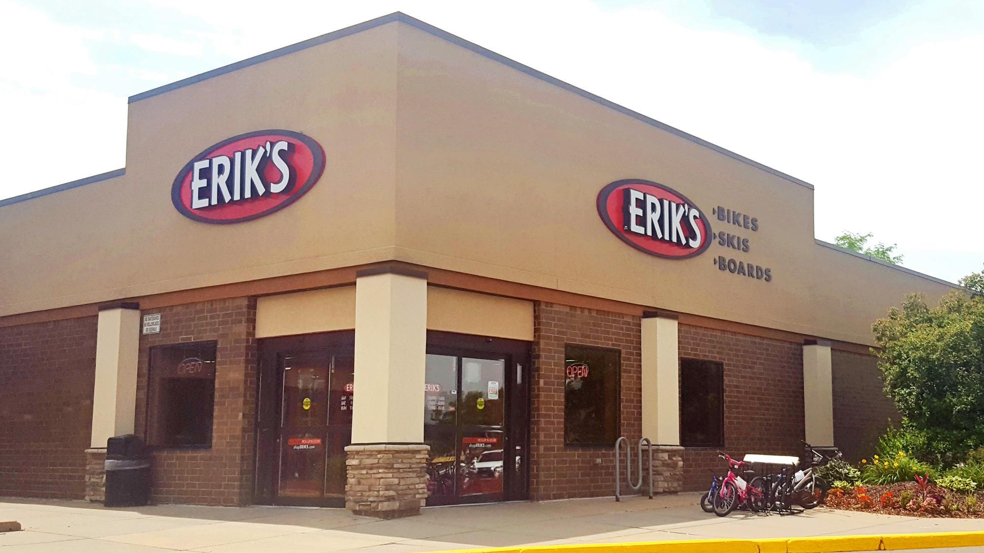 Burnsville Eriks bike shop storefront