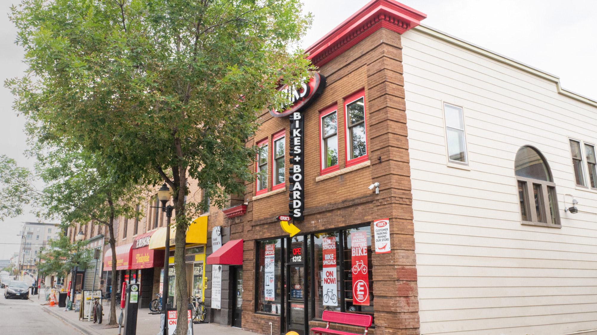 ERIK'S Dinkytown Storefront